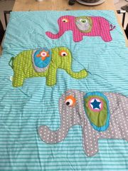 Baby-Krabbel-Decke 130 x 90 cm