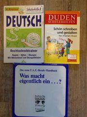 Verschiedene Schulbücher für 3