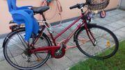 Fahrrad mit Hamax Kindersitz