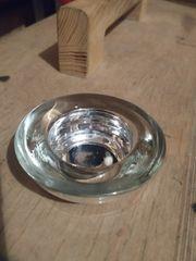 Teelichtglas - Hochzeit Taufe Deko Kerzen