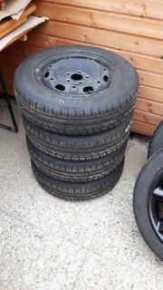 Stahlfelgen mit Reifen