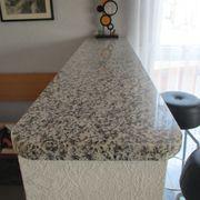 Granitplatte Bianco Sardo