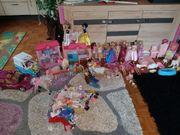 Riesen Barbiesammlung