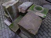 Alte Sandsteine Stele Quadersteine Steine