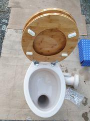 Stand WC Toilettendeckel Waschbecken Waschtisch
