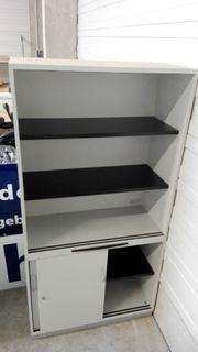 Sideboard mit Regalaufsatz Oka Büroschrank