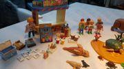 Playmobil Kiosk und Zoozubehör