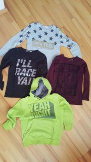 Jungen langarm Shirts bzw Sweatshirts