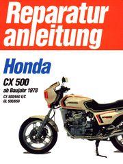 Reparaturanleitung R A Honda CX