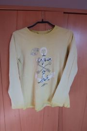Shirt gelb mit Aufdruck von