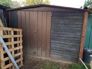 Geräteschuppen Hütte Metall Haus Gartenhaus