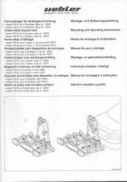 übler Kupplungsträger P22 S gebr