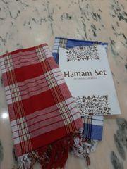 Hamam-Tuchset