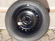Komplettrad Reifen mit Stahlfelge