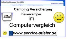 Wohnmobil, -wagen, Vermietung gewerblich - Camping Versicherung für Dauercamper online