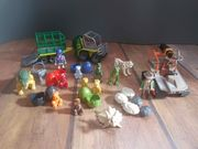 Playmobil Dinsosaurierset viel Teilen und