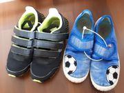 Turnschuhe Adidas und Hausschuhe Superfit