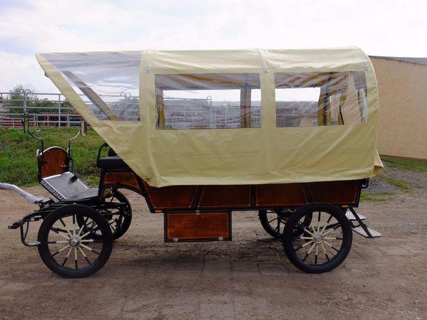 Planwagen 2 50m Sitzbanklänge