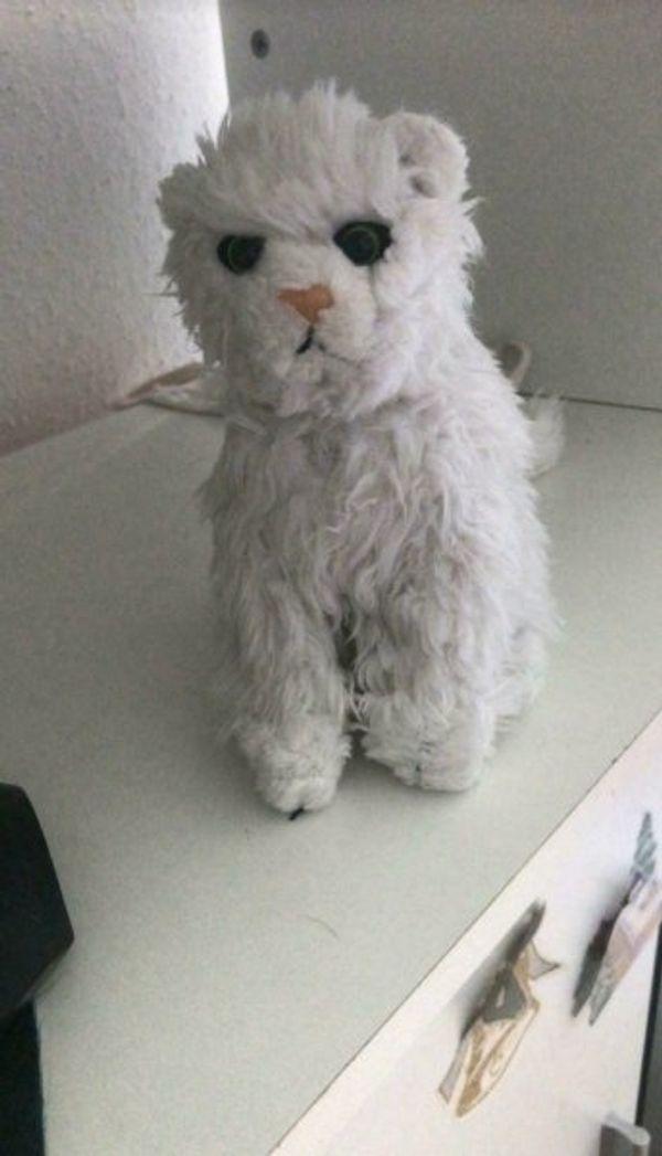 Stofftier Katze klein