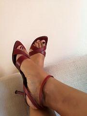 rote und sexy Heels
