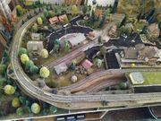 Eisenbahnanlage H0 Märklin M-Gleise