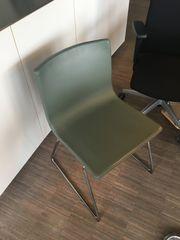 Lederstuhl oliv IKEA wie neu