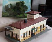 Modellbau Bahnhof HO Maßstab 1