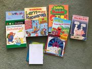 Kiste voll mit Kinderzeitschriften Hefte