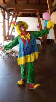 Clown Ambrosi Kinderzauberei Ballonmodellage vielseitige