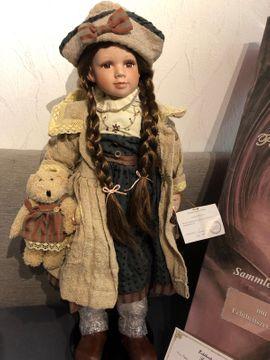 Puppen - Porzellan Puppe