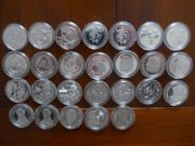 Silber - Silber - 28 x 10EUR