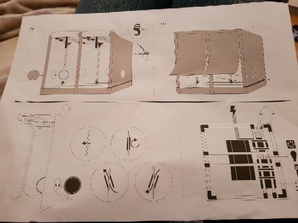 Crowe Homebox Komplettset 200x140x210