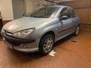 verkaufe Peugeot 206 Tendance