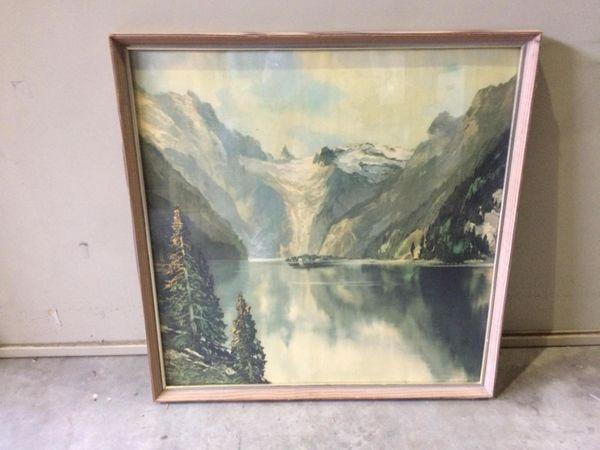 Öl-Gemälde Bilder Kunstdruck Relief