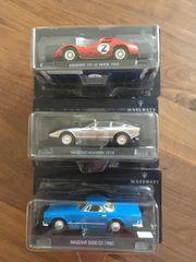 Sammlungsauflösung Maserati 1 43 Metallmodelle