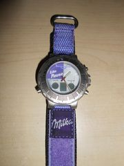 Milka Lila Pause Kicker Watch