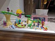 Playmobil Meerjungfrau Korallenpavillion mit Leuchtkugel