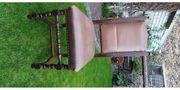 6 alte Esszimmerstühle aus Holz