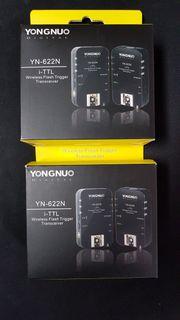 YONGNUO-622Nikon iTTL Trigger Transceiver