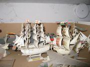 Schiffsmodelle - Plastikmodelle historischer Segelschiffe zu