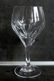 12 Stück Weingläser Bleikristall geschliffen