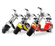Scooter Elektroroller Chopper Citycoco 2019