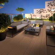 WPC Terrassendielen massiv hellbraun Prime-Qualität
