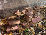 Schöne Sandsteine ca 30 Stück