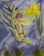 Ölgemälde ca 40x50 cm Impressionismus