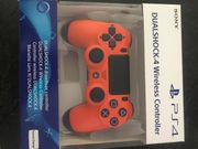 Ps4 Controller in Sunset Orange