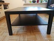 Verschenke Ikea Tisch LACK Schwarzbraun