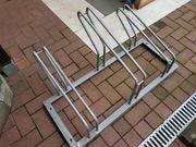 Fahrradständer für 3 Fahrräder verzinkt