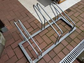 Fahrradständer für 3 Fahrräder, verzinkt