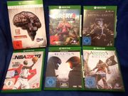 Xbox One - Verschiedene Spiele